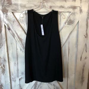 Ann Taylor black sleeveless tank NWT